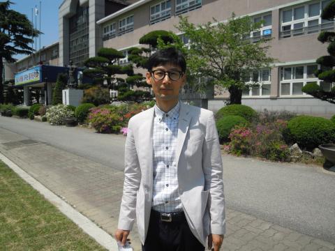 봉동초등학교 심재국 선생님 ⓒ 김지혜/ScienceTimes