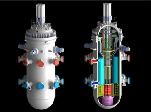 일체형 소형 원자로인 SMART 원자로