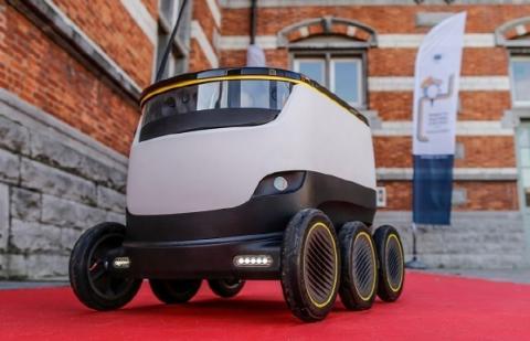 지상 배송 로봇 시장을 주도하고 있는 스타십 테크놀로지의 배송 로봇 ⓒ 스타십 테크놀로지