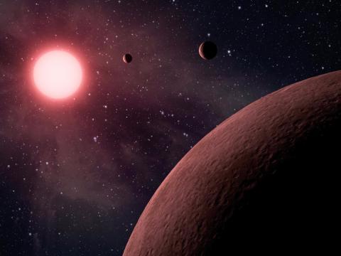 지구같은 행성인 엑소플라넷의 상상도 ⓒ NASA