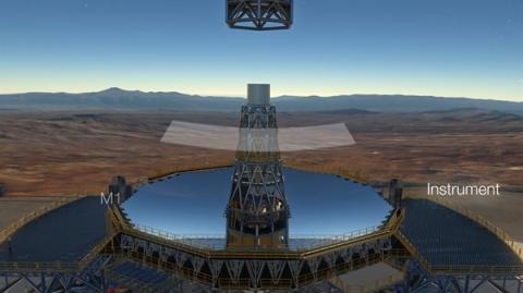 세계에서 가장 거대한 망원경으로 등극할 E-ELT 망원경의 구조 ⓒ ESO