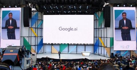 최근 열린 구글 개발자 컨퍼런스 개최 현장