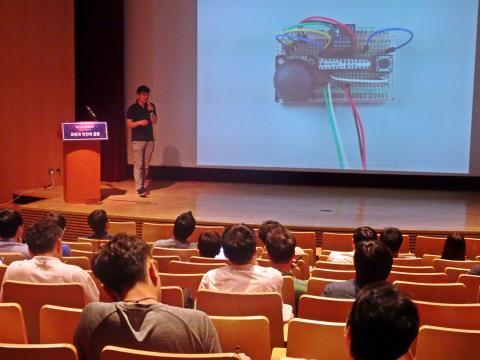 6일 서울 역삼동 포스코 P&S타워에서는 로봇과 인간의 공존을 모색하는 'W.I.N 2017' 컨퍼런스가 열렸다.