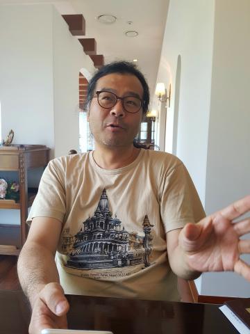 전파천문학자 이명현 박사는 외계생명체를 탐사하는 세티 프로젝트의 한국책임자. 그는 미스테리 같은 외계생명체와 우주에 대한 흥미진진한 이야기를 풀어놨다. ⓒ 김은영/ ScienceTimes