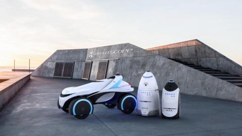 영화  '로보캅'이 상연된지 30년이 지난 지금 로보갑을 표방한 첨단 로봇들이 잇따라 등장해 주목을 받고 있다. 사진은 나이트스코프에서 개발한 로보캅 'K5'.
