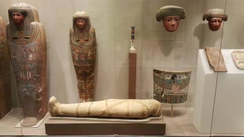 이집트 미이라. 뉴욕 메트로 박물관.  ⓒ 박지욱