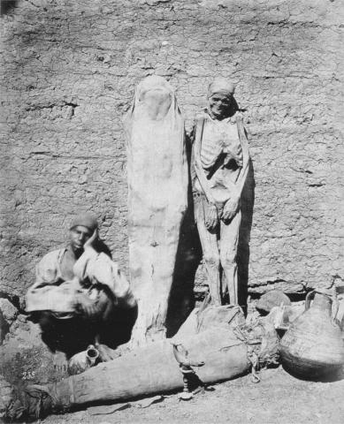 미이라 장수(1875년).  ⓒ 위키백과
