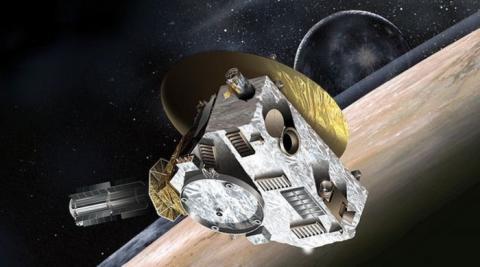 명왕성과 카이퍼벨트 지대를 탐사하기 위해 11년 전에 지구를 떠난 뉴 호라이즌 호 ⓒ NASA