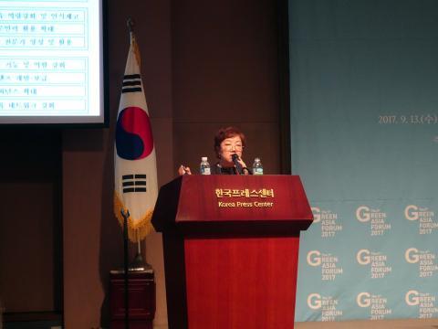 장미정 한국환경교육센터장은 '생태시민성'의 중요성을 강조했다.