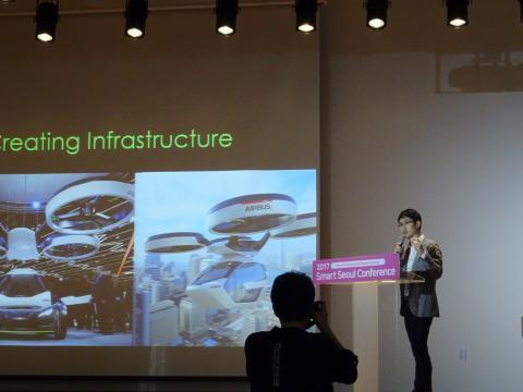 조시 최(Josh Choi) 프로그램 코디네이터는 교통의 변화가 도시에 미치는 영향을 설명했다. ⓒ 김은영/ ScienceTimes