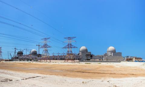 아랍에미레이트 연합에 건설중인 한국형 원자로 4기 ⓒ 정근모
