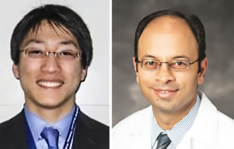 연구를 수행한 넬스 시에 박사(왼쪽)와 무케쉬 제인 교수. Credit : Case Western Reserve Univ.