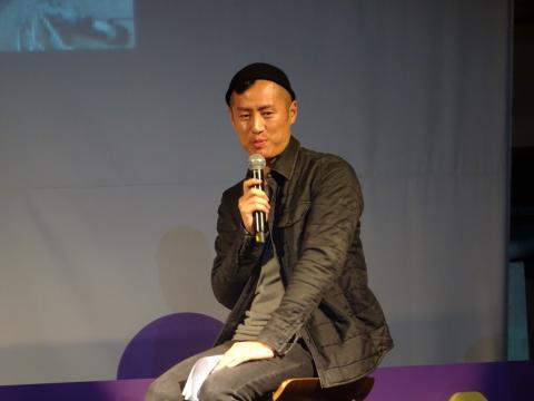 마린보이 작가는 예술이 기술을 이끄는 작품을 만들고 싶다고 말했다. ⓒ 김은영/ ScienceTimes