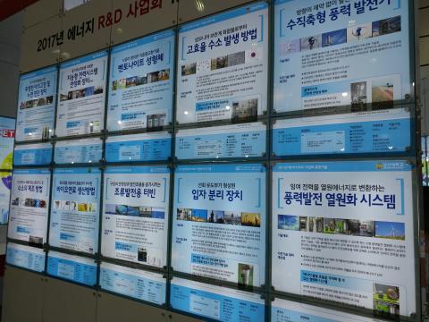 한국에너기술연구원이 선정한 2017년 에너지  R&D 사업화 유망기술들.