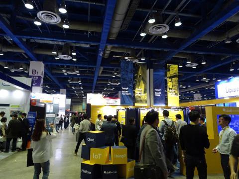 최신 사물인터넷 기술 트렌드를 조망해보는 '2017 사물인터넷 국제 전시회'가 서울 삼성동 코엑스에서 열렸다.