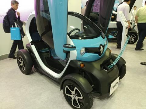 작고 귀여운 미래형 운송 수단 전기자동차 모습.  ⓒ ScienceTimes
