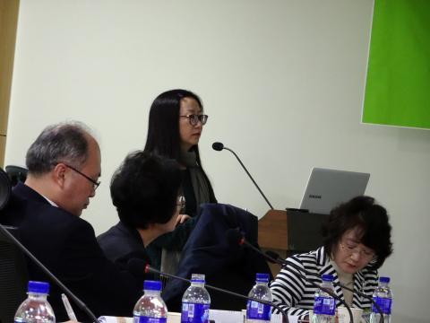 슈엔 양(Xueyan Yang) 중국 시안교통대 교수가 발표하고 있다. ⓒ 김은영/ ScienceTimes