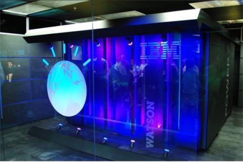 슈퍼컴퓨터를 기반으로 동작하는 IBM 왓슨. ⓒ 위키미디어
