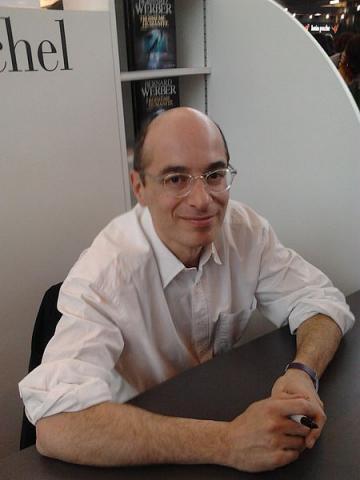 소설 개미의 작가 베르나르 베르베르. ⓒ ActuaLitte