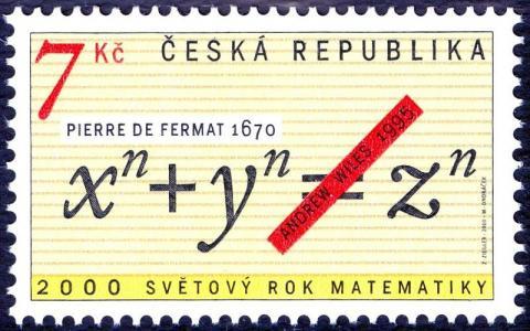 n이 3인 경우에 오일러가 증명한 페르마의 마지막 정리. ⓒ Free photo
