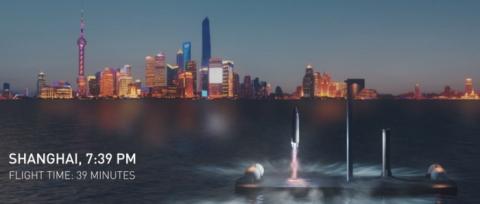 로켓을 지구 여행에 활용하면 뉴욕에서 상하이까지 30분이면 가능하다 ⓒ SpaceX