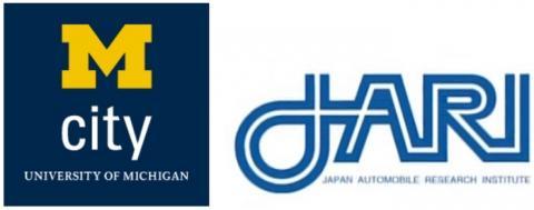 미국과 일본의 자율주행 실험도시 로고 ⓒ M-city & JARI homepage