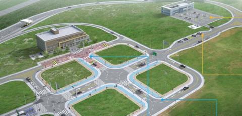 K-city에 조성될 자율 주차시설 ⓒ 교통안전공단