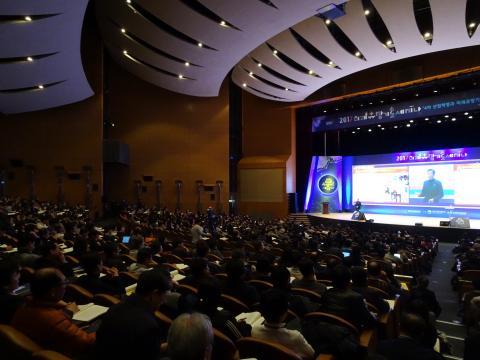 미래유망기술을 전망하는 이 날 행사에는 수많은 인파들이 몰렸다. ⓒ 김은영/ ScienceTimes