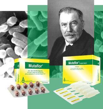 1917년 독일의 의사 알프레드 니슬(Alfred Nissle)은 튼튼한 장을 지닌 한 병사의 분변에서 대장균 균주를 분리했다. '대장균 니슬 1917'로 명명된 이 균주는 이후 '뮤타플로(Mutaflor)'라는 상표명의 장질환 치료제로 쓰이고 있다. 대장균 니슬 1917의 유효 성분의 실체가 100년 만에 밝혀졌다.  ⓒ Ardeypharm