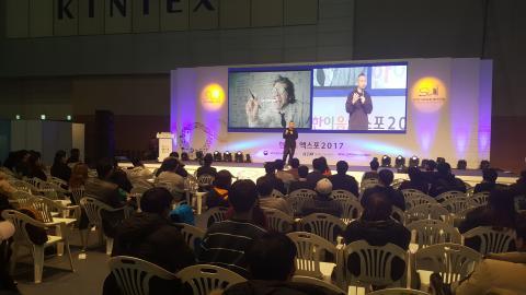 구글코리아 조용민 부장은 자기를 혁신하기 위해 배움과 협업이 중요하다고 강조했다.  ⓒ김지헤/ ScienceTimes