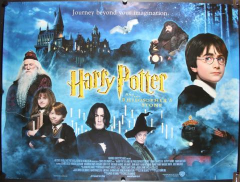 최근 음향 기술이 발전하면서 시각 영상을 음향으로 공간화하려는 시도가 이루어지고 있다. 사진은 '해리포터와 현자의 돌' 포스터. 2002년 최초로 AD 트랙이 삽입됐다.