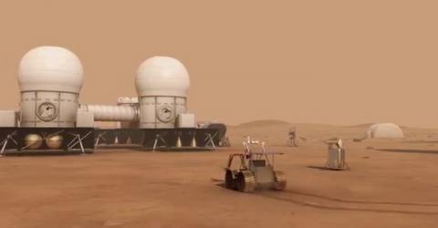 NASA가 화성 유인기지 건설을 위해 소형 원자로를 개발하고 있다 ⓒ NASA