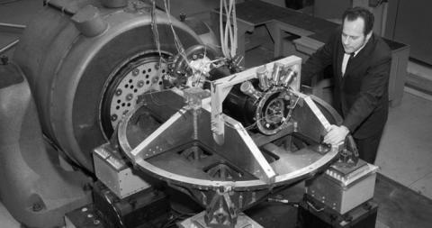 우주 탐사를 위한 목적으로 1960년대 개발된 SNAP 원자로 ⓒ NASA