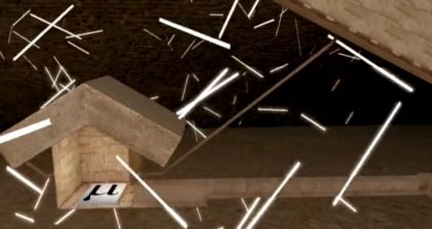 뮤온은 콘크리트나 돌을 통과할 정도로 투과력이 좋다 ⓒ scanpyramids.org