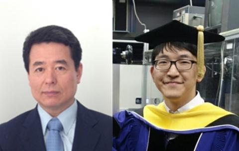 서울대 물리천문학부 안경원 교수와 김준기 박사(오른쪽).  ⓒ 서울대