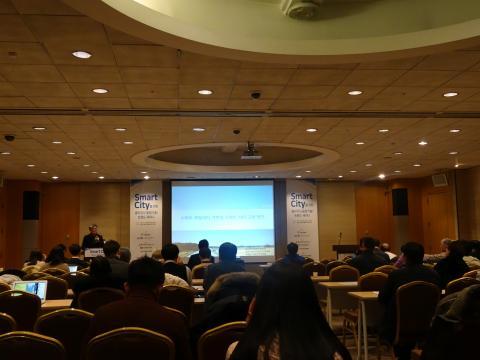 14일 서울 강남구 삼성동 코엑스 컨퍼런스룸(북)에서는 '스마트 시티를 위한 클라우드 융합기술 트렌드 세미나'가 개최되었다.  ⓒ 김은영/ ScienceTimes