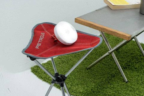 열혈 캠핑 매니아가 개발한 휴대용 보안안전장치 '캠지'.