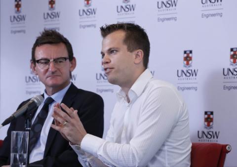 주락 박사(왼쪽)와 벨호스트 박사. ⓒPhoto: Grant Turner