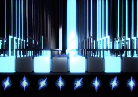양자 컴퓨터의 원리를 표현한 그림 ⓒ UNSW