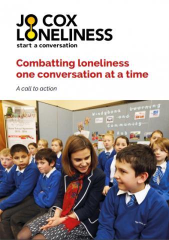 조 콕스 보고서 표지에 실린 조 콕스 의원의 생전 모습 ⓒJo Cox Loneliness