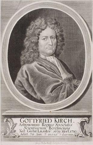 마리아 빙켈만의 남편이었던 천문학자 코트프리트 키르히. ⓒ Free photo