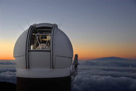 2017년 한해 동안 다양한 분야에서 중요한 과학적 발견이 있었던 것으로 평가받고 있다. 사진은 하와이에 있는 천체관측용 망원경 '판-스타스'(Pan-STARRS 1). 사상최초로 인터스텔라 행성을 관측했다.  ⓒpanstarrs.stsci.edu