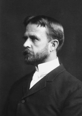 유전자로서의 염색체 기능을 발견한 토머스 모건 박사. ⓒ Public Domain