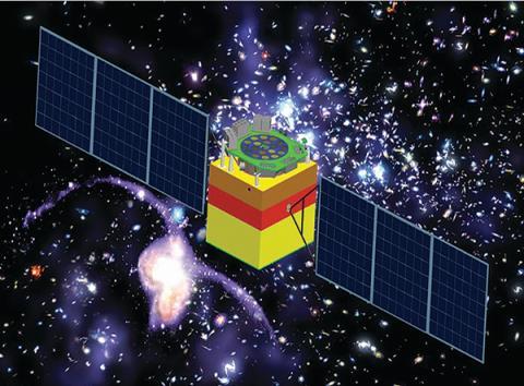 2017년 6월16일 중국이 블랙홀 진화 등 우주의 미스터리를 탐사하고 측량하기 위해 발사한 첫 X선 천문위성. 최근 중국 과학기술의 비약적인 발전을 보여주고 있다.  ⓒ中國科學院