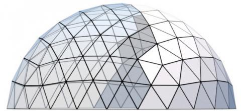 지오데식 돔 설계공법은 지진과 바람에 강하다 ⓒ biodomes.eu