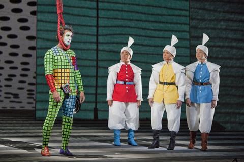 파파게노 증후군이 탄생한 연극 마술피리의 한 장면