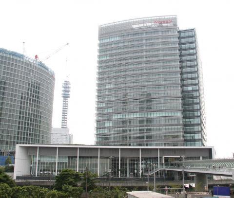 일본 닛산 자동차 요코하마 본사. IT 기업에 인력 수요가 많다. ⓒ 위키피디아