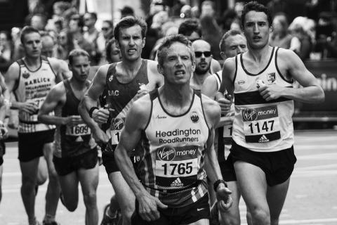 런던마라톤 대회  ⓒ Pixabay