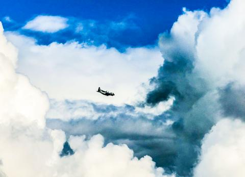 새로운 연구에 따르면 대기에 높은 습도와 열이 있고 더 큰 입자가 없을 경우 초미세 입자들이 이와 같은 구름들을 생성해 내는 역할을 할 수 있다.   CREDIT: Montanus Photography