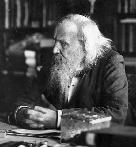 멘델레예프는 주기율포의 발견이라는 위대한 업적에도 불구하고 한 표 차이로 노벨상을 받지 못했다. ⓒ public domain